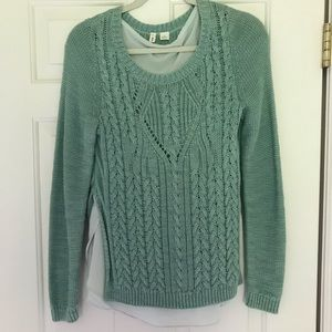 Cute Moth (Anthropologie) Layered Sweater